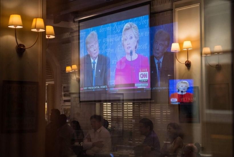 Vastastikused süüdistused ajaloolisel debatil: Clinton ei näe välja nagu president vs. Trump on rassist