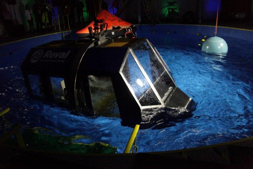 GALERII JA VIDEO | Revali merekooli kopteribasseini avapidu