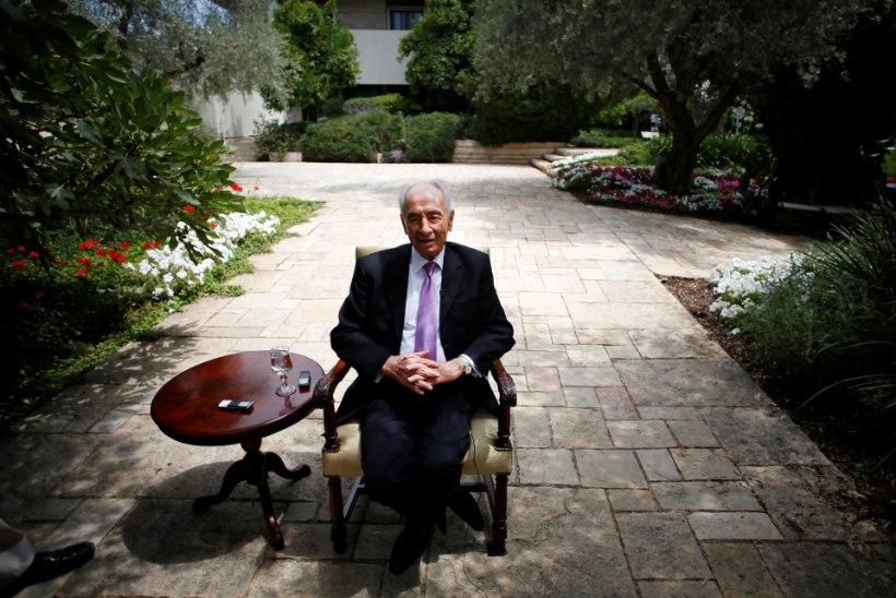 Suri Iisraeli ekspresident Shimon Peres