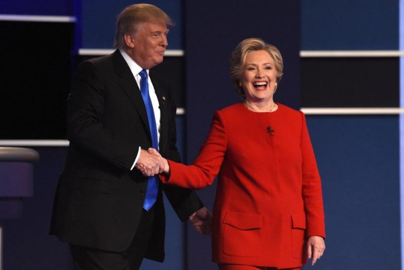 Clintoni-Trumpi teledebatt purustas 36 aasta taguse vaatajarekordi