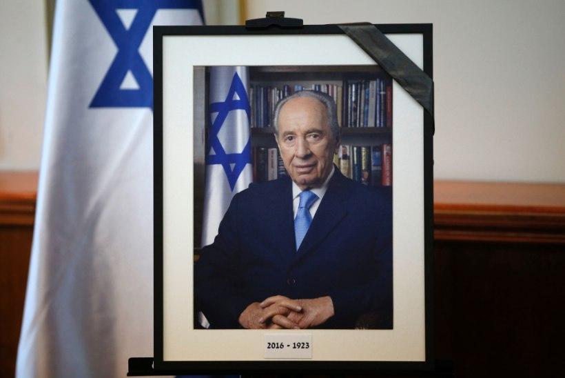 Maailma liidrid mälestavad Shimon Perest