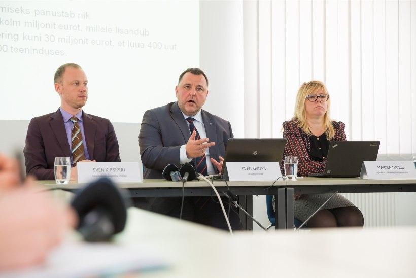 Uue riigieelarve olulisemad kuluread ministeeriumite hinnangul