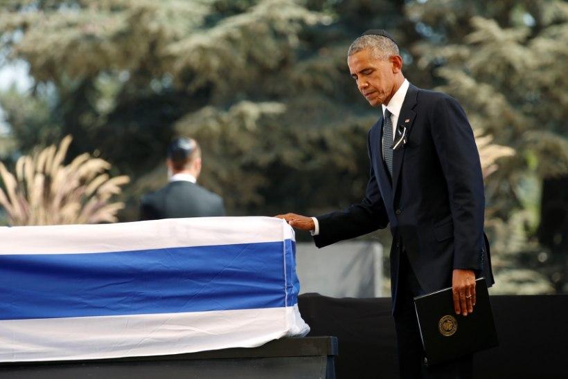 Shimon Peresi matust turvas 8000 politseinikku