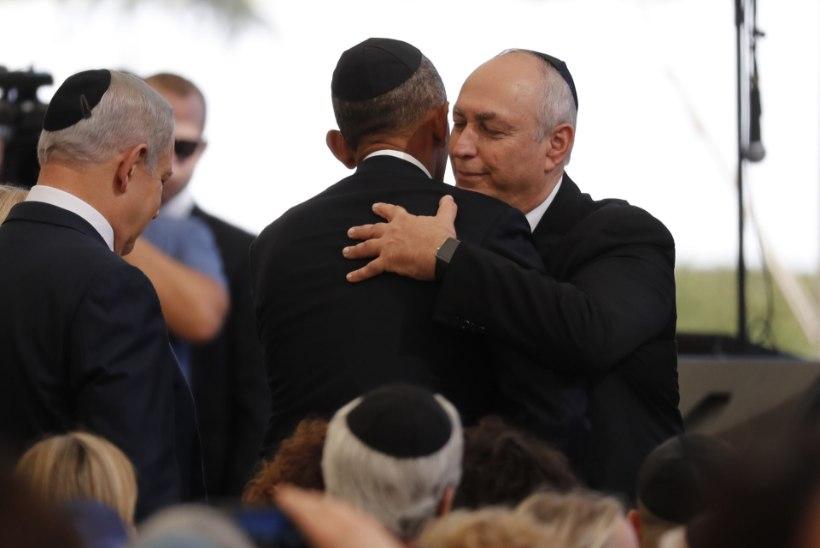 FOTOD | Jeruusalemmas peeti ekspresident Shimon Peresi matuseid, kohal on ka Taavi Rõivas