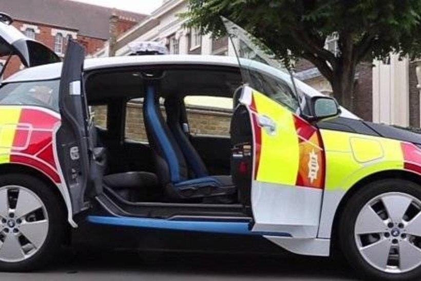 VIDEO | Londoni tuletõrjujad võtsid kasutusele BMW i3'd