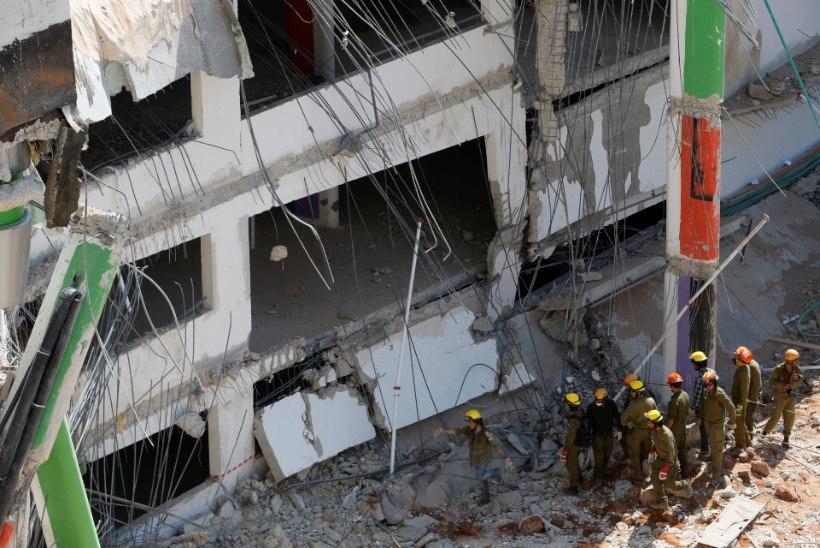 FOTOD | Iisraelis varises ehitatav parkimismaja kokku, vähemalt kaks inimest hukkus