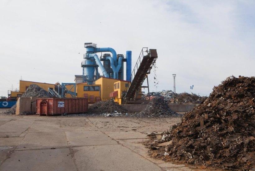 Metalliveski on purustanud üle miljoni tonni vanametalli
