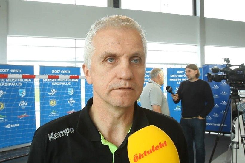 ÕHTULEHE VIDEO   Viimsi käsipallimeeskond soovib kõva kaitse toel medalit võita