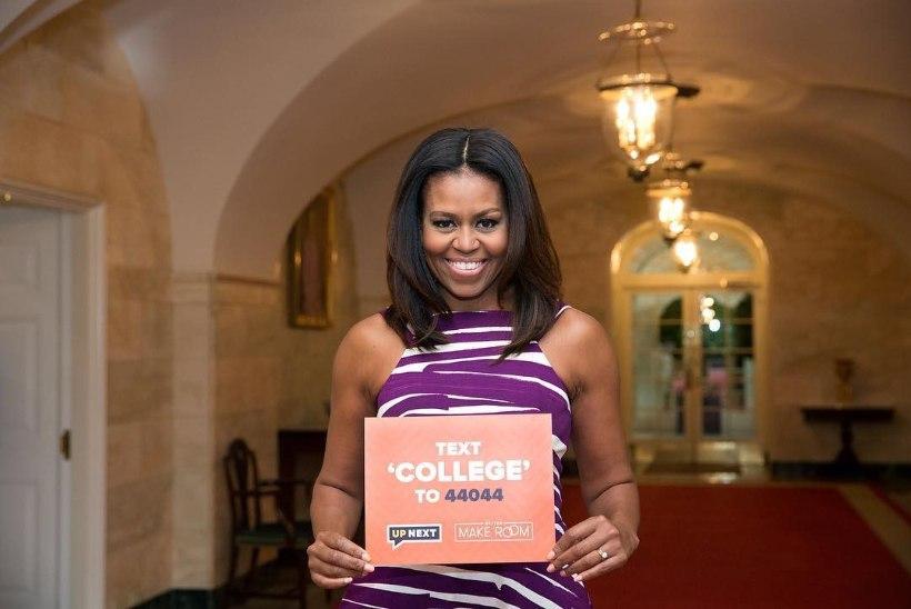 USA esileedil Michelle Obamal on võimas sõnum kõikidele kooliõpilastele!