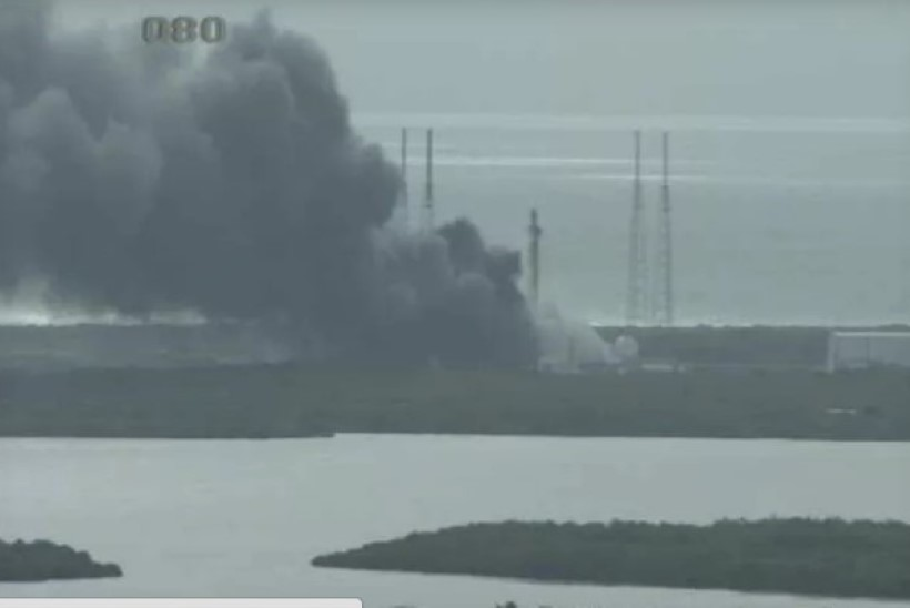 KÕHE VIDEO | Kas SpaceXi raketi lasid õhku tulnukad?
