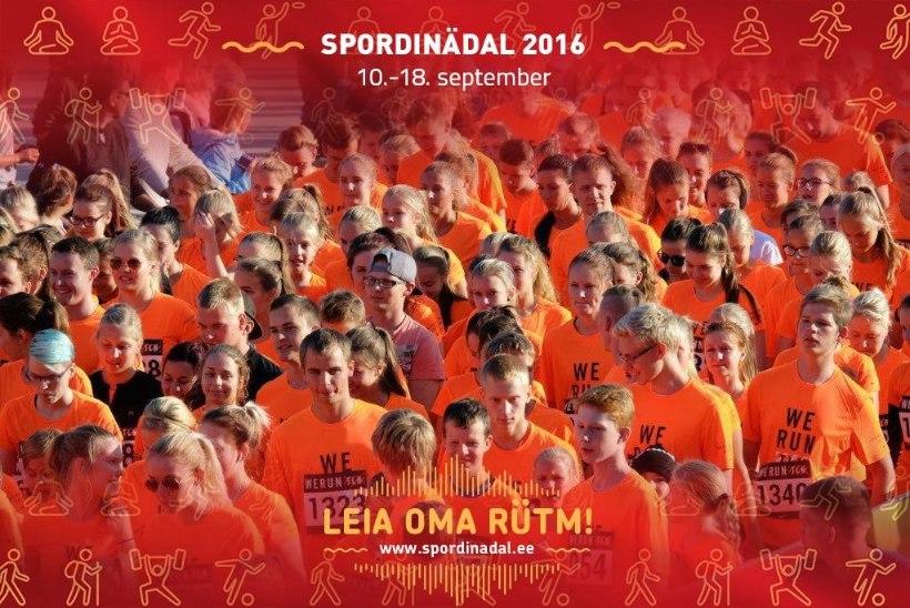 SPORDINÄDAL 2016 : enam kui 600 sündmust üle Eesti!
