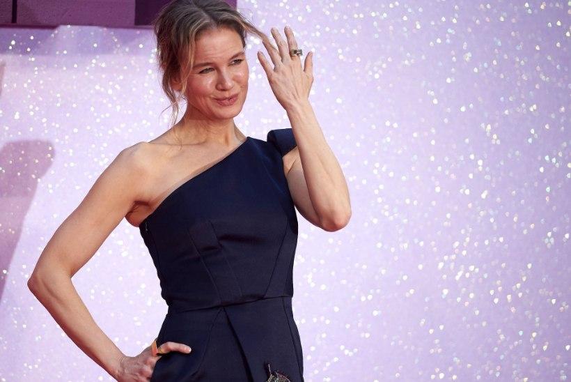 "Renee Zellweger säras ""Bridget Jonesi beebi"" esilinastusel"