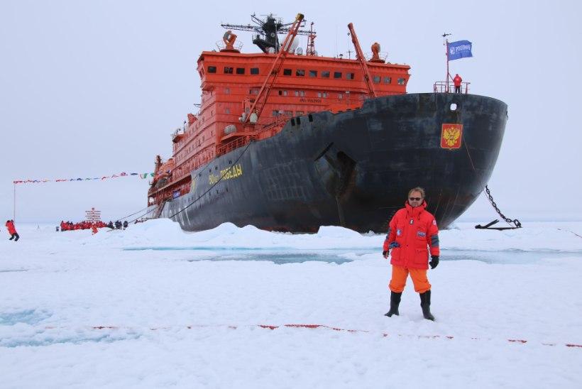 """Tiit Pruuli käis põhjanabal: """"Barentsi meres lõi laine vastu kaptenisilda"""""""