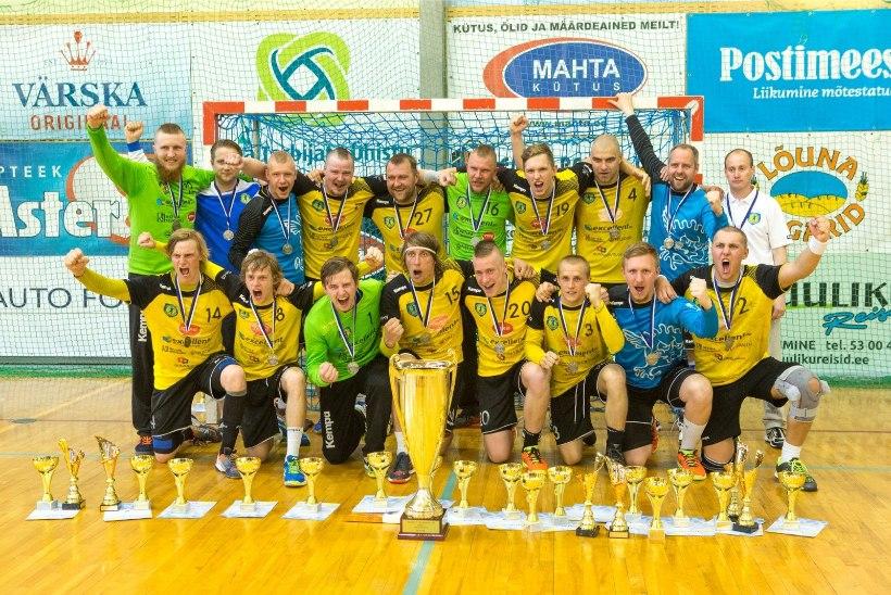 Viljandi ja Kehra alustasid käsipalli meistrivõistlusi võiduga