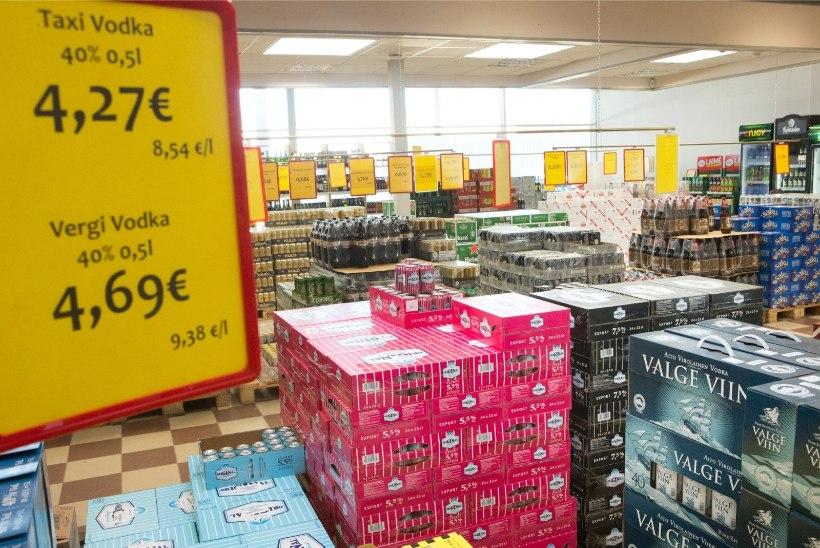 Uuring: 28 protsenti Eesti elanikest on tänavu Lätist alkoholi hankinud