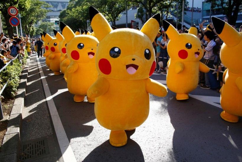 SOLVAB TAIMETOITLASI: Pokémon Go tegijaid süüdistatakse jumalavallatuses