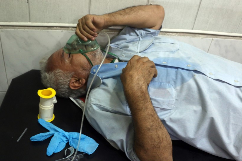 Süüria valitsus kasutas Aleppos keemiarelva