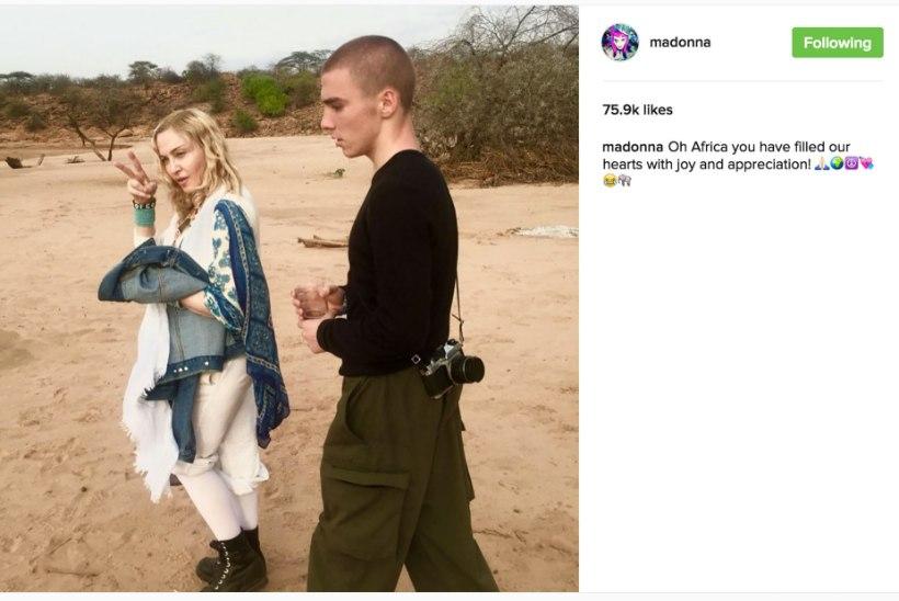 RÄNK HOOP: Madonna jäi oma pojast Roccost ilma