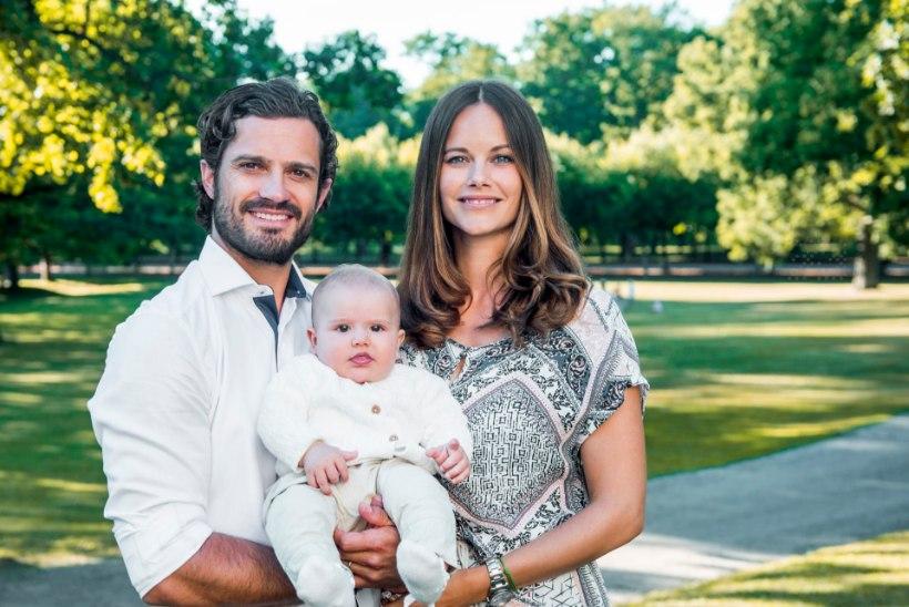 Homme ristitakse Rootsi printsi Carl Philipi esiklaps