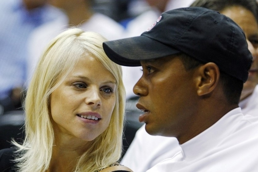 Gwen Stefani eksmees semmib Tiger Woodsi eksnaisega
