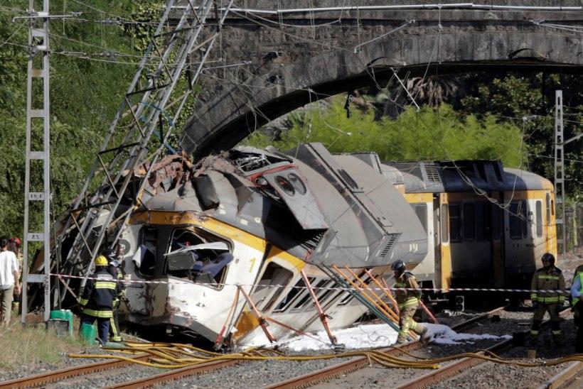 Hispaanias toimus raske rongiõnnetus