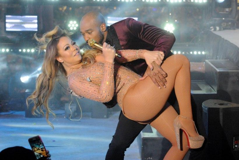 Mariah Carey esinemine läks uusaastaööl täiesti lörri