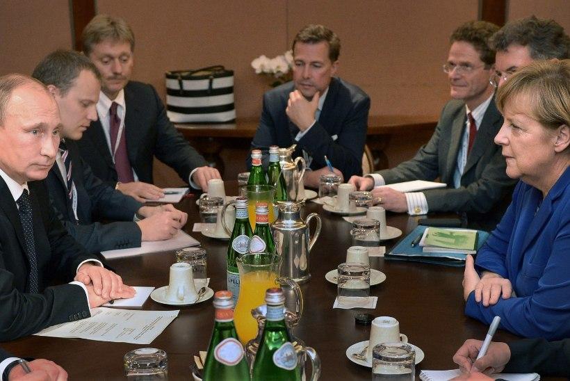 HILINEMISREKORD: Putin jäi Merkeliga kohtumisele 4 tundi ja 15 minutit hiljaks