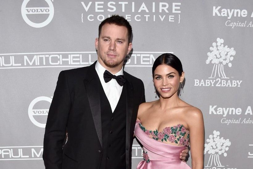 FOTO | Channing Tatum uhkustas abikaasa pringi tagumikuga