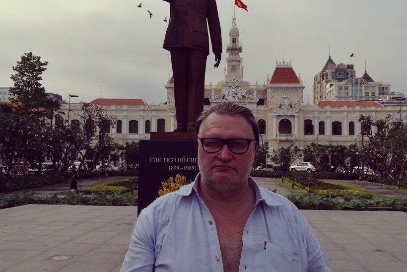 """MUHE KLÕPS / Kokanduskomöödia """"Köök"""" staar Indrek Taalmaa naudib Vietnami kuumust"""