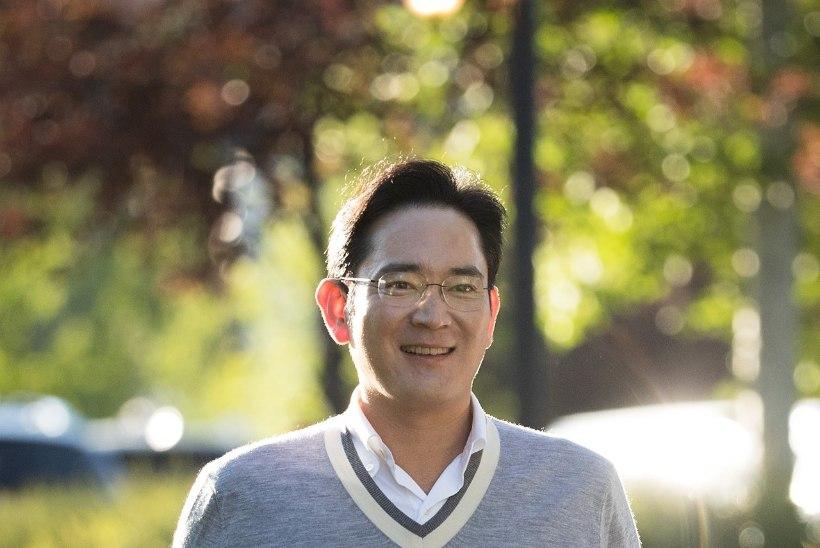 Samsungi boss on kahtlusalune Lõuna-Korea korruptsiooniskandaalis