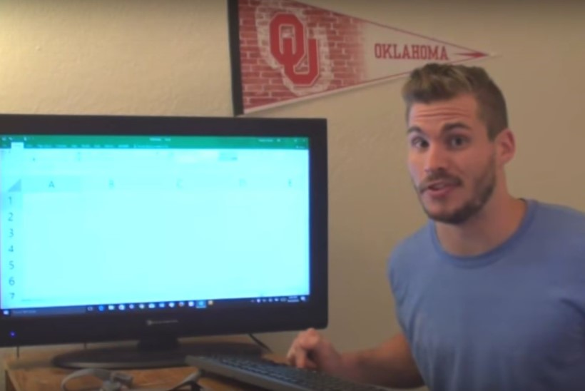 VIDEO   Kui kaua kulub aega, et jõuda Exceli lehe lõpuni?