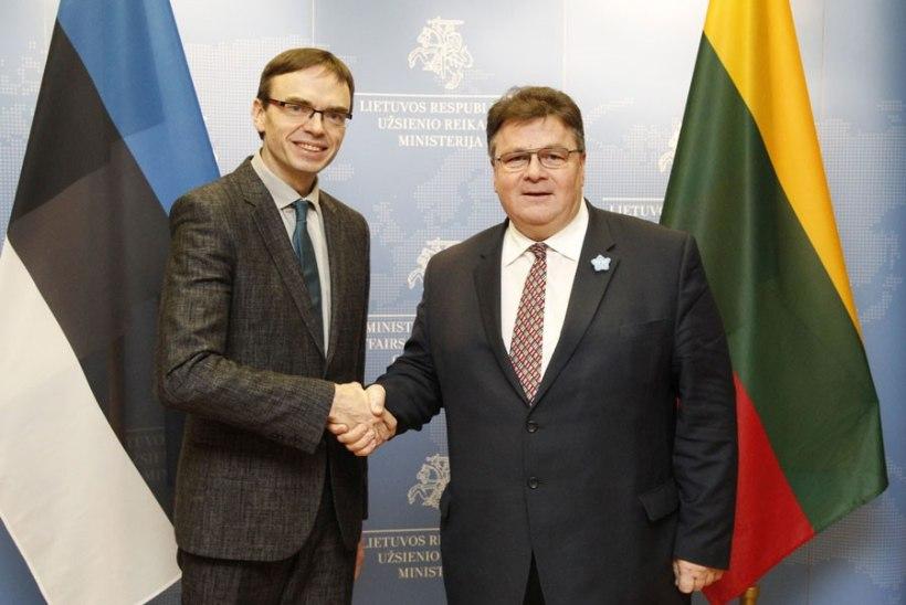 FOTOUUDIS | Välisminister Mikser kohtus Leedu välisministri Linkevičiusega
