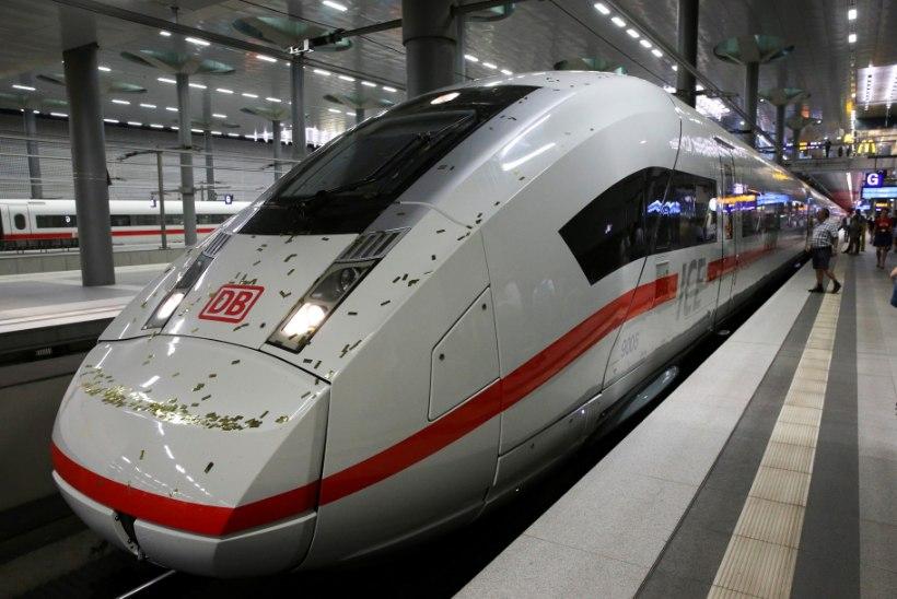 Pisipoiss sõitis üksi rongiga Berliinist Leipzigisse