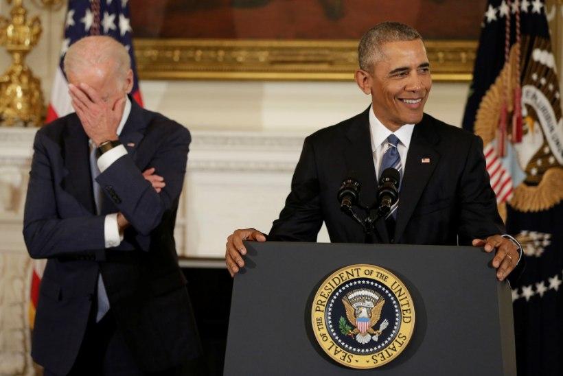 SÜDAMLIK VIDEO JA PILDID | Obama pani asepresidendi meeleliigutusest nutma