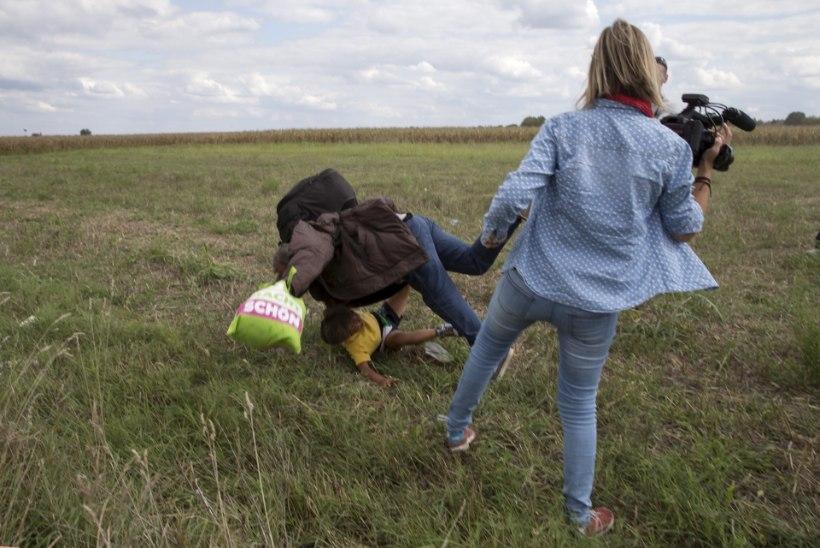 Põgenikke jalaga löönud teleoperaator sai karistuse