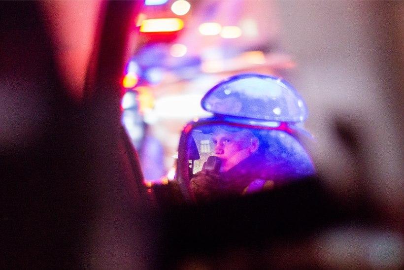 Kakluse lahutamise juures olnud naine sai politseikoeralt hammustada