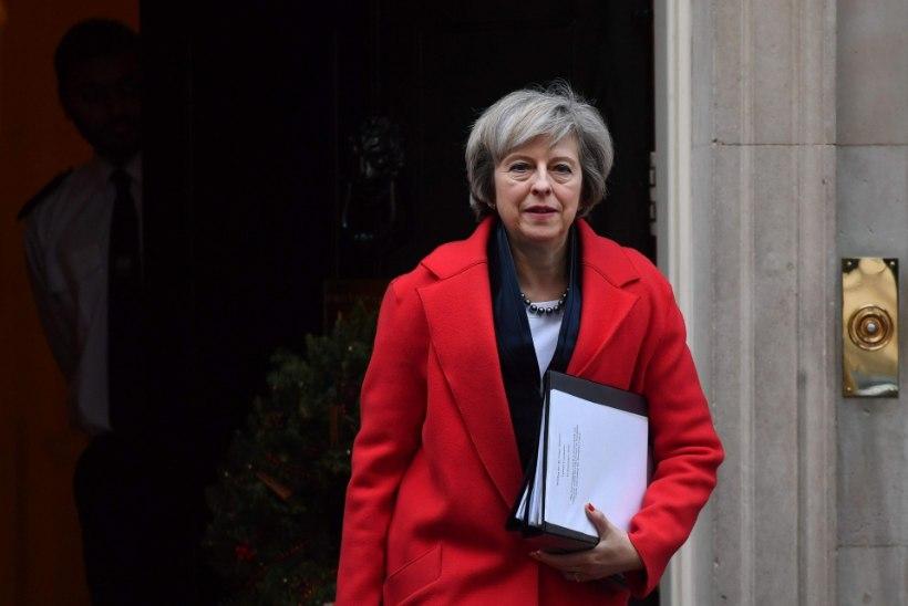 Theresa May virutab ukse kinni