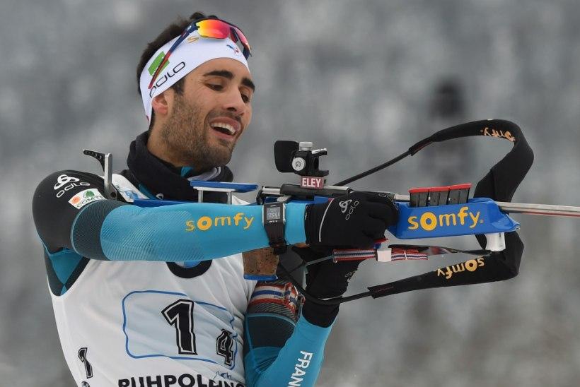 Martin Fourcade, kes muu - hooaja kümnes etapivõit!