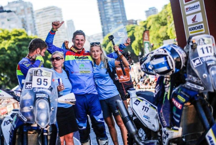 VIDEO | Toomas Triisa võitis Dakari ralli ja nimetas kaht nädalat hullumeelseteks