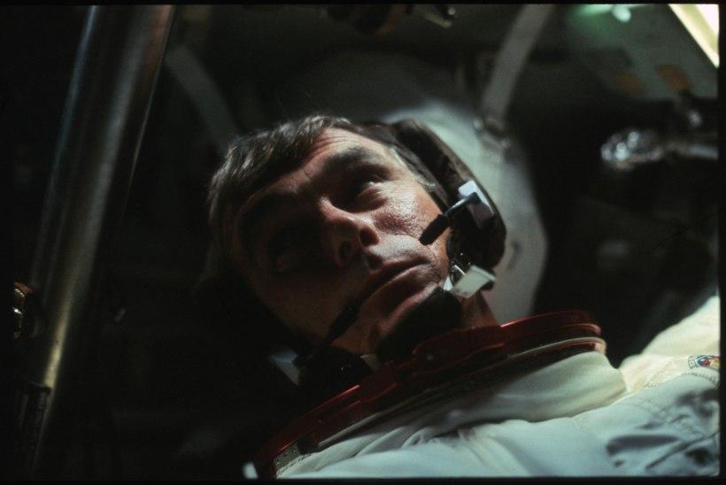 Suri viimasena Kuul käinud astronaut Eugene A. Cernan