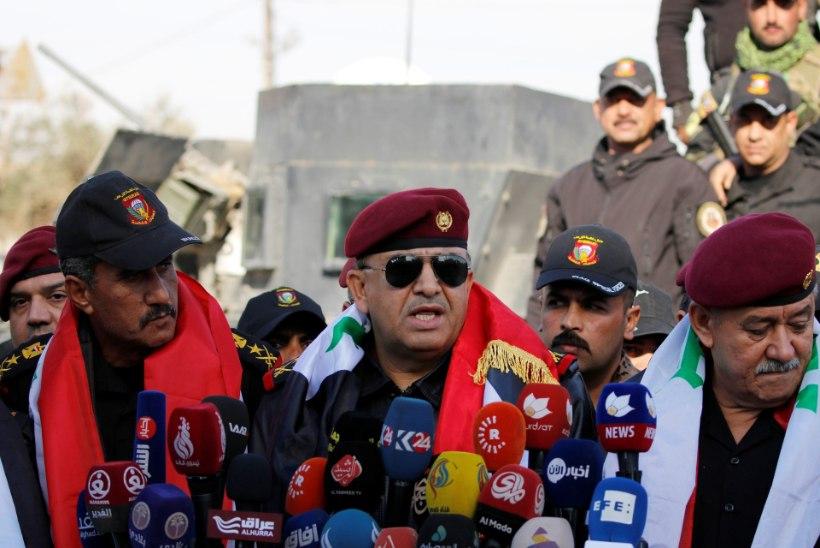 Iraagi sõjavägi hõivas Islamiriigilt Mosuli idaosa