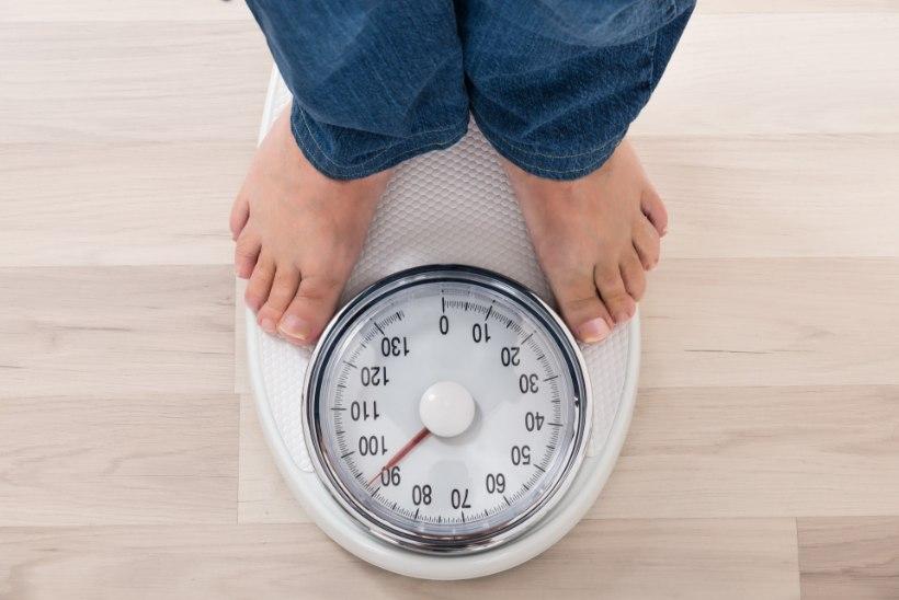 Vähesed ülekaalulised jõuavad normaalkaaluni