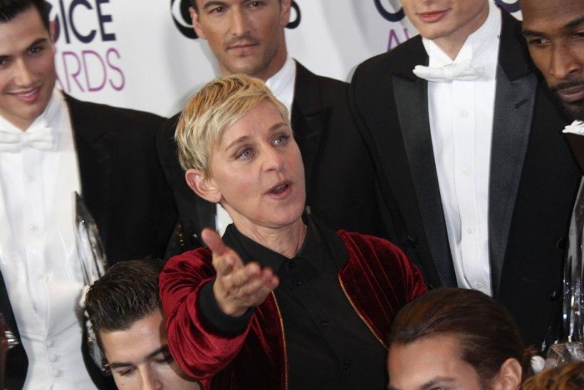 Ellen DeGeneres tegi auhinnagalal ajalugu