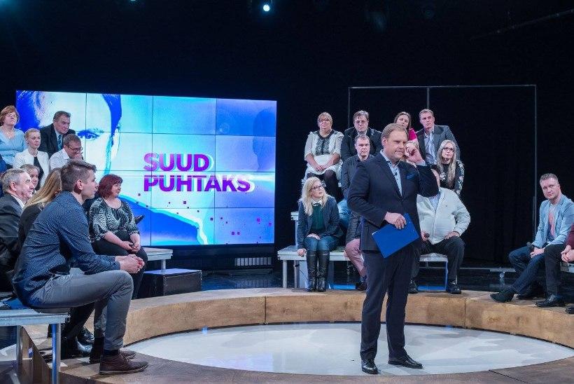 """Lugejad Urmas Vaino uuest debatisaatest """"Suud puhtaks"""": hästi läbi viidud ja kindlakäeliselt juhitud!"""