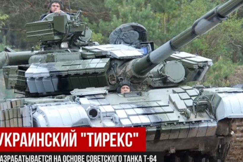 VIDEO   Ukrainlased töötasid välja vastuse tankile Armata