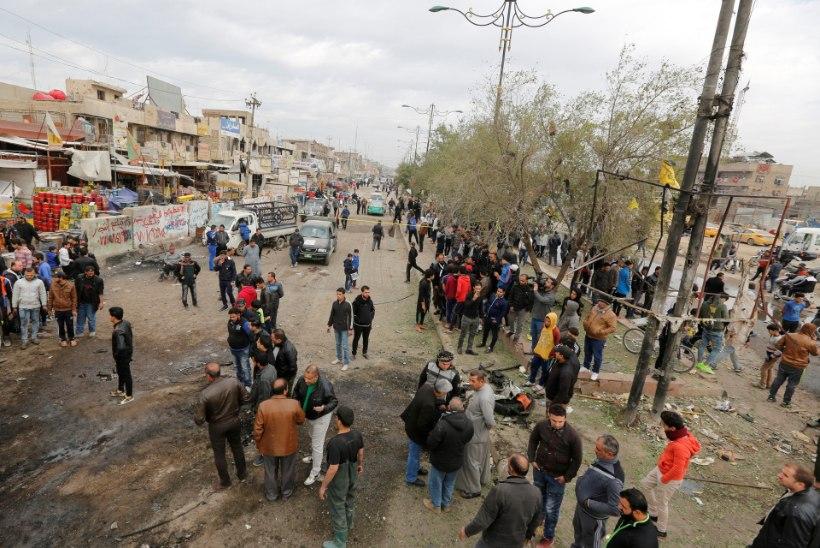 Bagdadis tappis enesetapupommar 35 inimest
