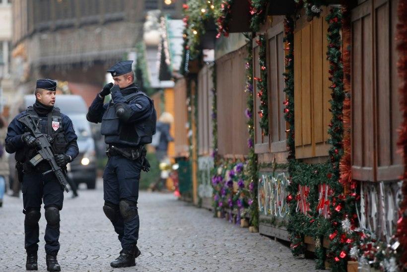 Prantsuse politsei vahistas 301 inimest