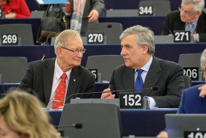 Euroopa Parlamendi presidendiks sai Tunne Kelami pinginaaber