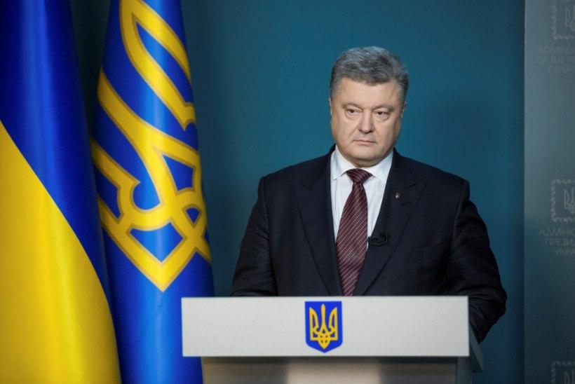 Ukraina president tuleb Eestisse