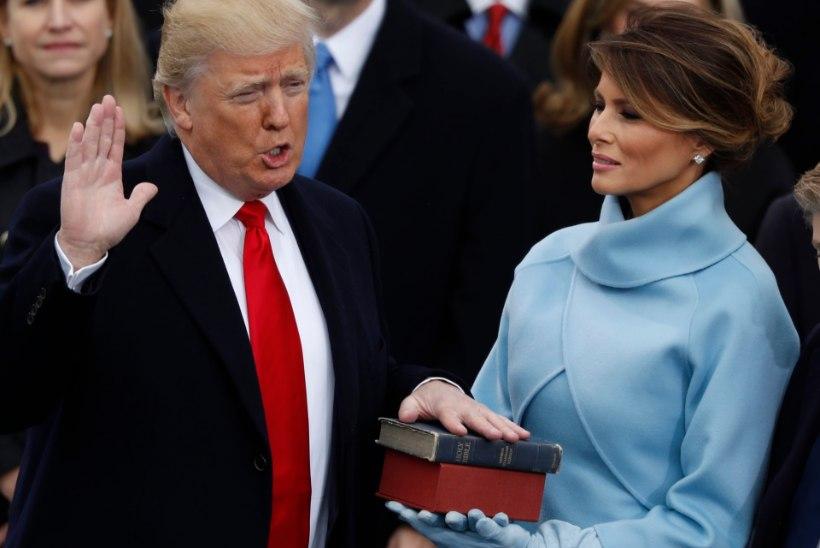 FOTOD | USA president Donald Trump astus ametisse